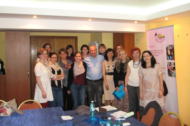 Dr. Jack Newman in Romania