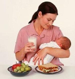 Alimentatia mamei pe perioada alaptarii